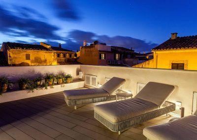 Fotografía iluminación hotel